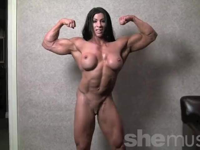 Bodybuilding women naked with small penis