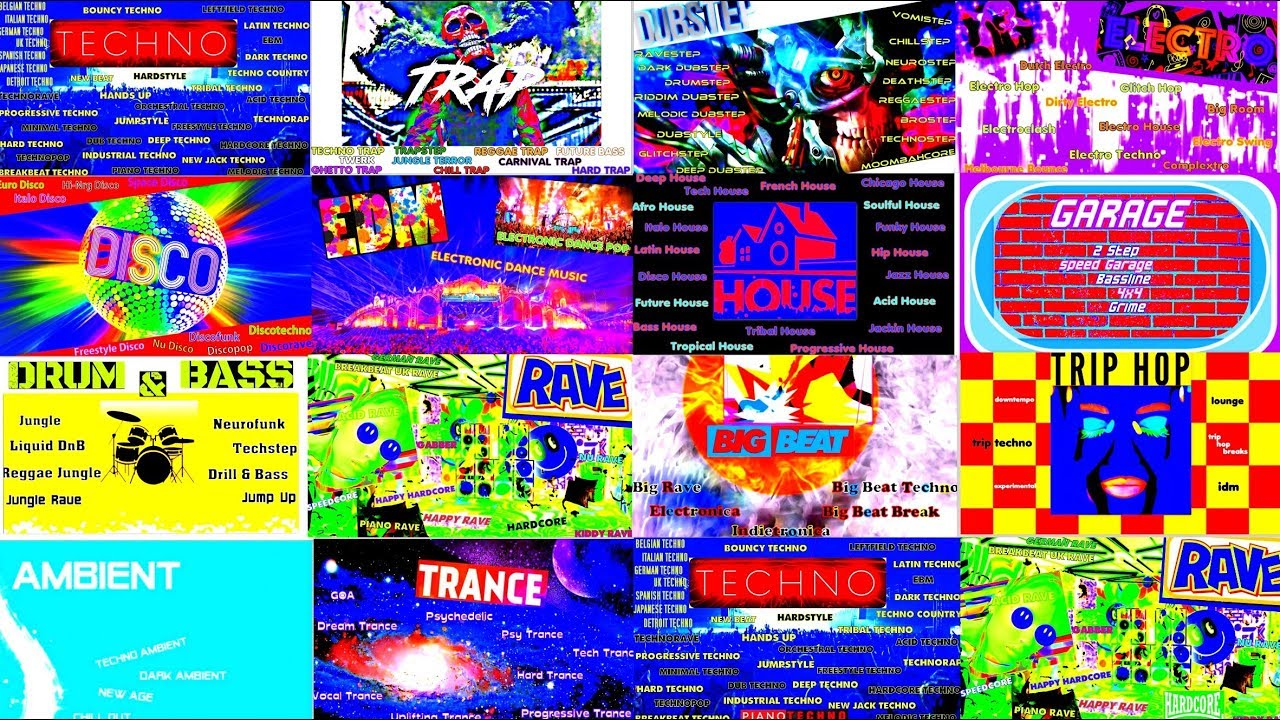 New electronic music genres