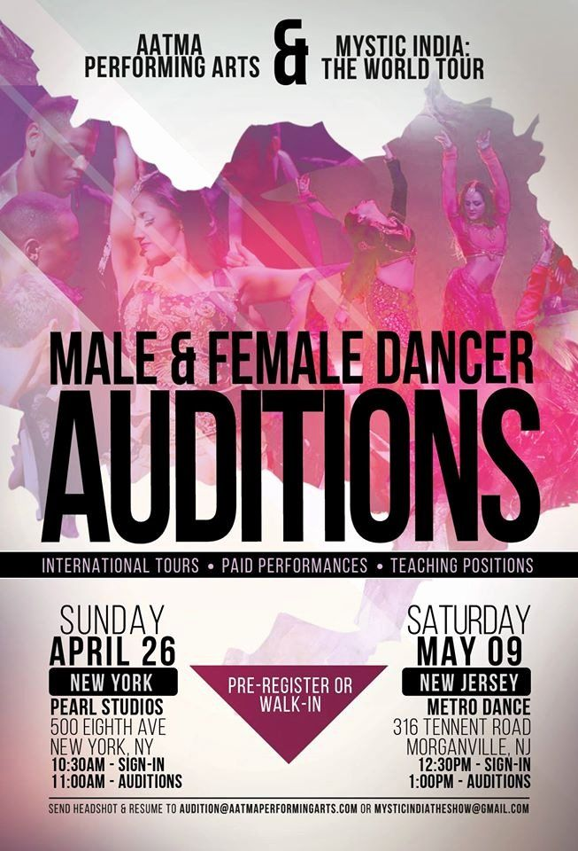 Musical auditions in new jersey