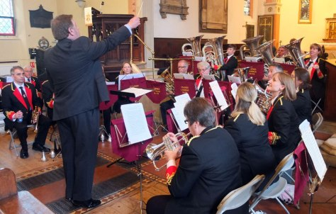 Staines brass band